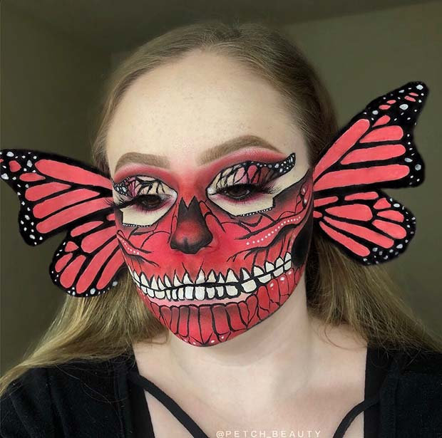 Butterfly Design with 3D Wings