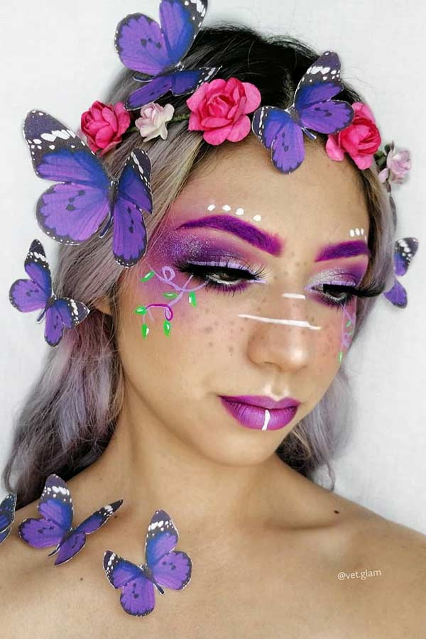 Butterfly Fairy Makeup Idea