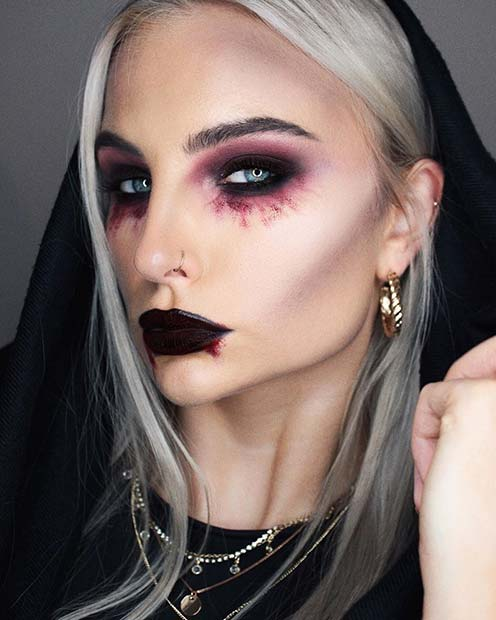 23 Vampire Makeup Ideas For Halloween 2020 Stayglam