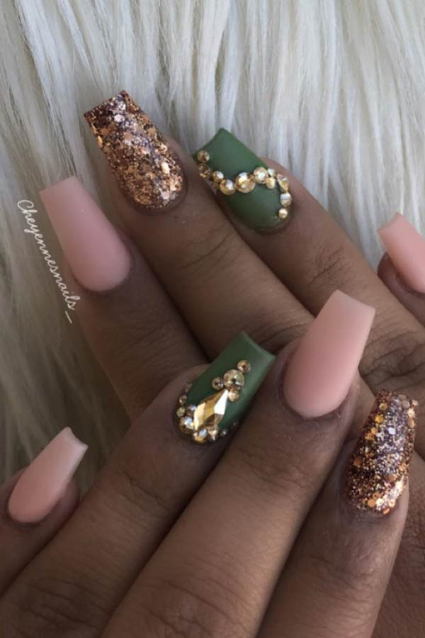 Elegant Fall Nails