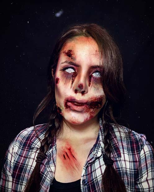 Gruesome Makeup Idea
