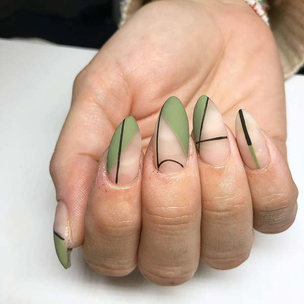 Modern and Trendy Nail Art