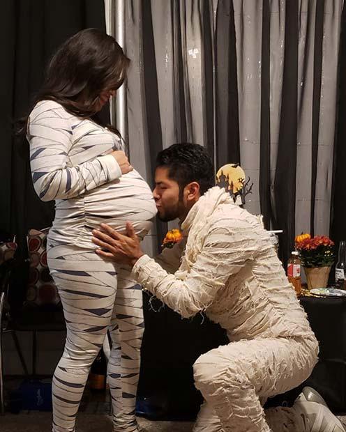 Mummy-To-Be Costume Ideas