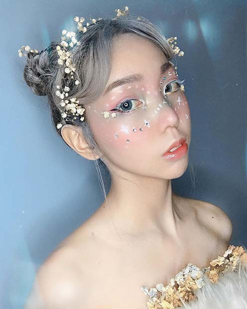 Otherworldly Fairy Makeup