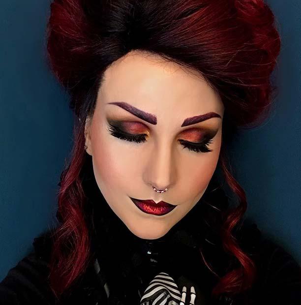 Victorian Vampire Makeup