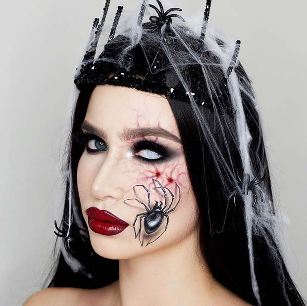 Spider Queen Halloween Costume Idea