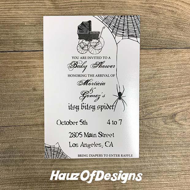 Spooky Invitation Design