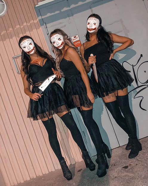 The Purge Costumes for a Group