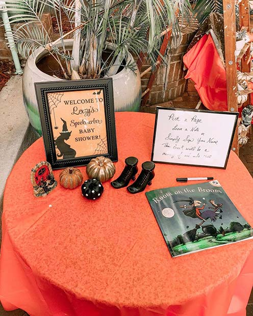 Witch Theme Guestbook
