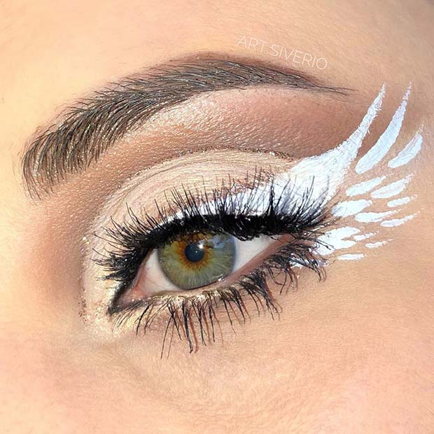 23 Best Angel Makeup Ideas For Halloween Stayglam