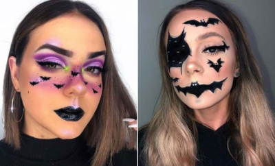 Bat Makeup Ideas for Halloween