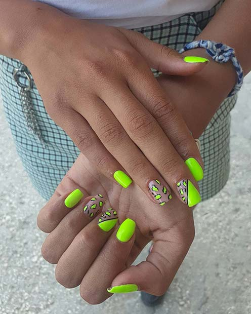 43 Neon Green Nails to Inspire Your Summer Manicure   Page ...