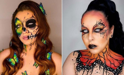 Butterfly Makeup Looks for Halloween