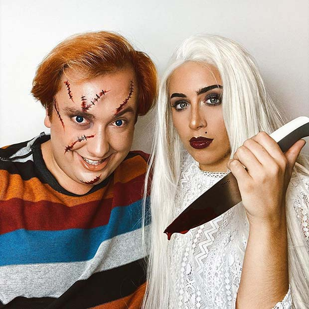 Chucky Couple's Costumes