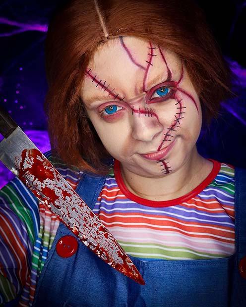 Chucky 80's Halloween Costume Idea