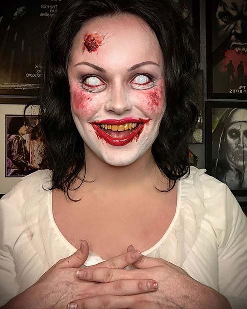 Deadite Linda Halloween Costume Idea