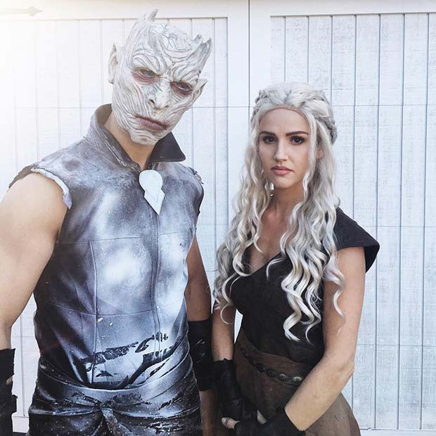 Game of Thrones Inspired Couple's Costumes