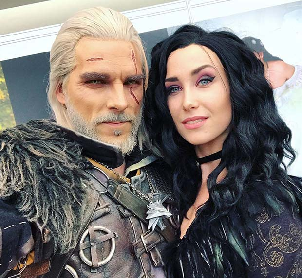 Geralt and Yennefer Halloween Costumes