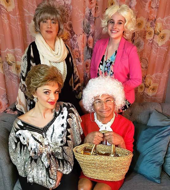 Golden Girls Halloween Group Costume