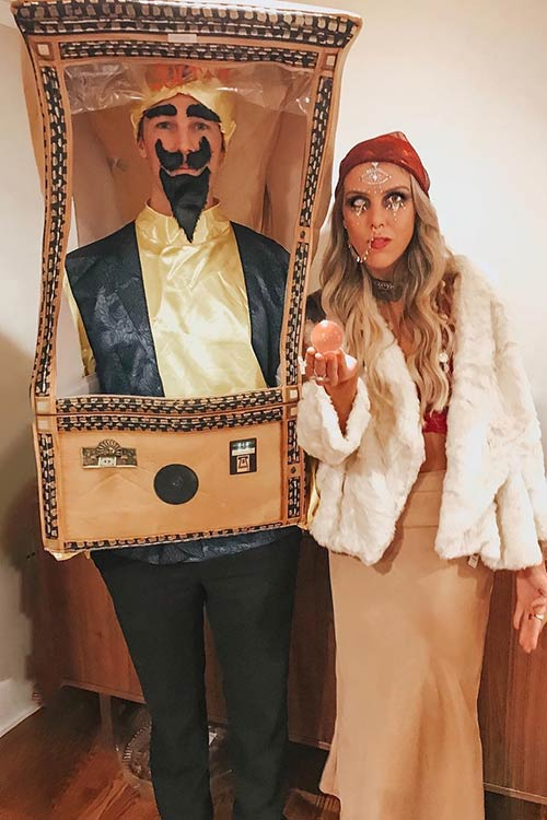Gypsy Couple Costume Idea