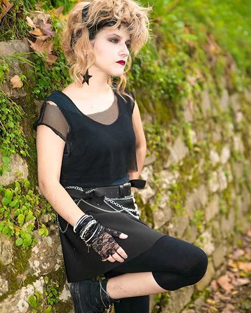 Madonna 80er Halloween Kostüm Idee
