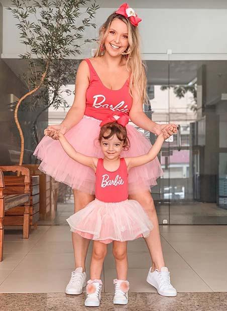 Matching Barbie Costumes