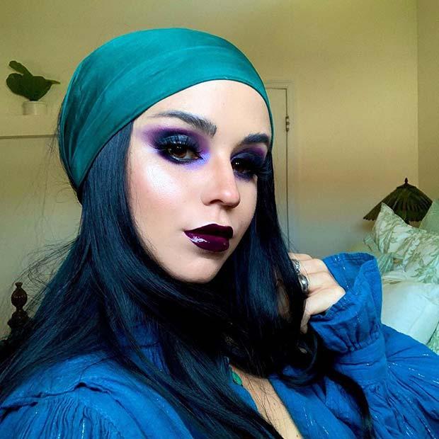 Mystical Pirate Makeup