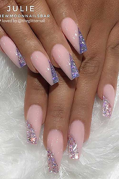 55 Great ombre coffin nails design shines your summer