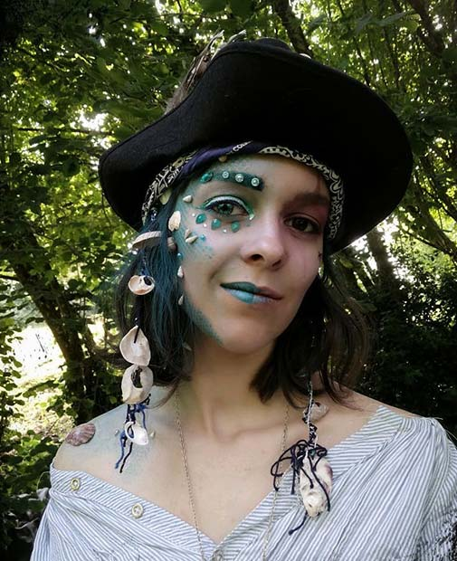 Pirates of the Caribbean Inspired Makeup