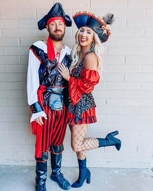 Pirates Couples Halloween Costume