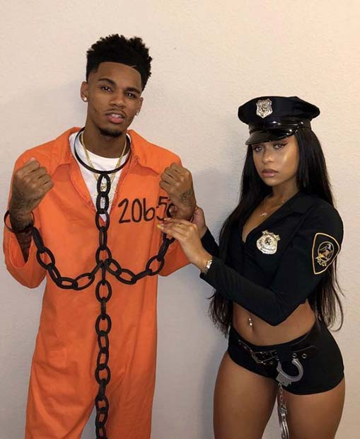 Police Couple's Costumes for Halloween