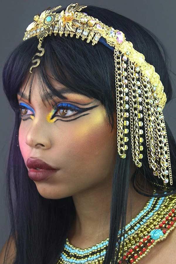Sexy Cleopatra Halloween Makeup