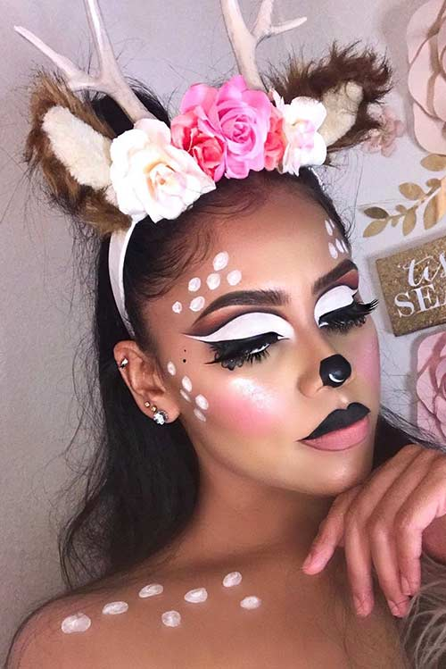 Sexy Halloween Makeup Idea