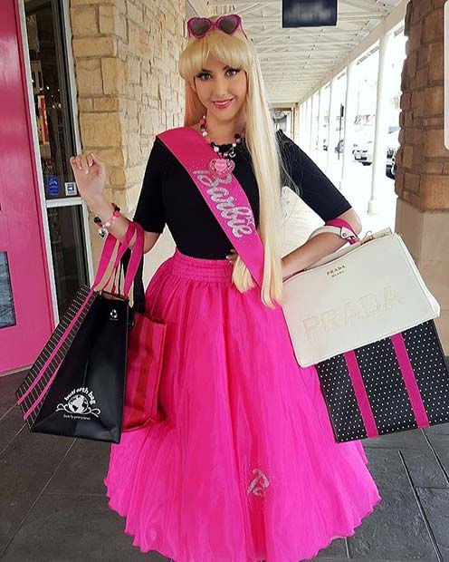 Stylish Barbie Costume