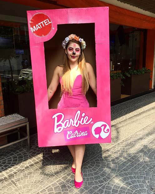 Sugar Skull Barbie In Box