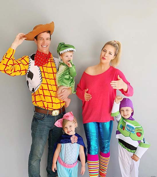 Toy Story Family with Barbie