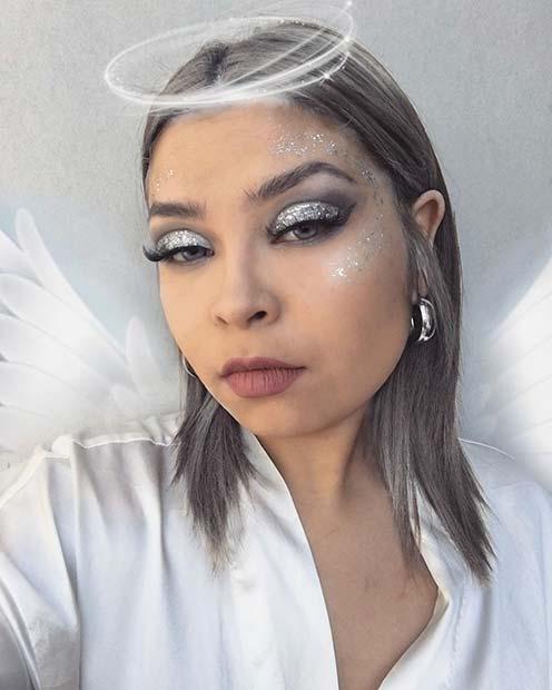 White Angel Makeup Look