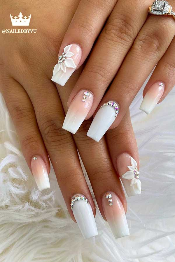 Trendy Wedding Nails