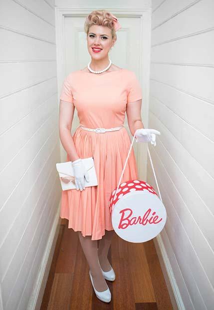 Vintage Barbie Costume Idea
