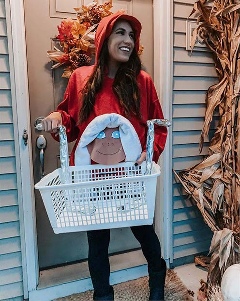 Cute DIY E.T. Costume