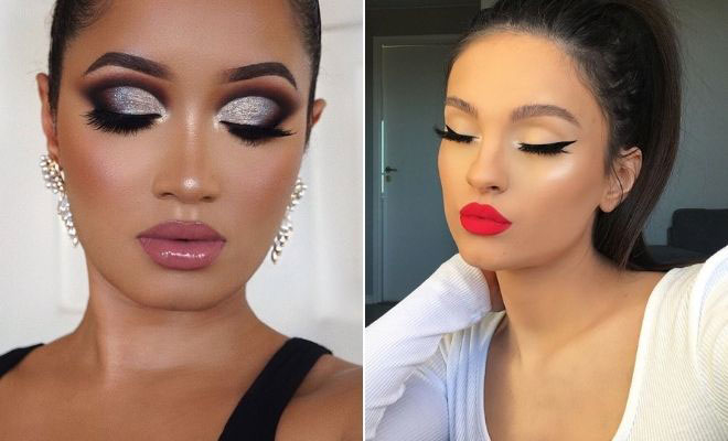 Glam Makeup Looks to Wear for the Holidays