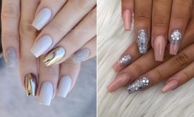 Stunning Silver Nails